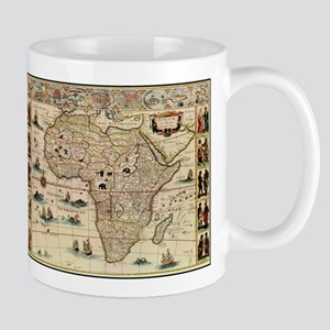 Ancient Africa Map Mug